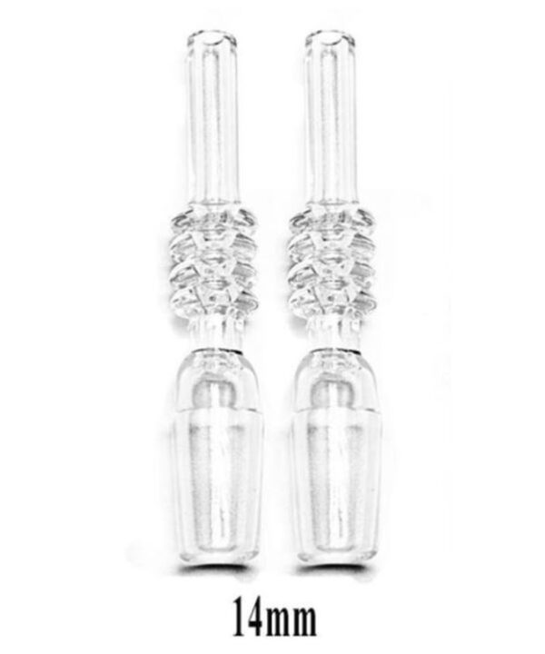 14mm Nectar Dab Rig Collector Quartz Replacement Tips