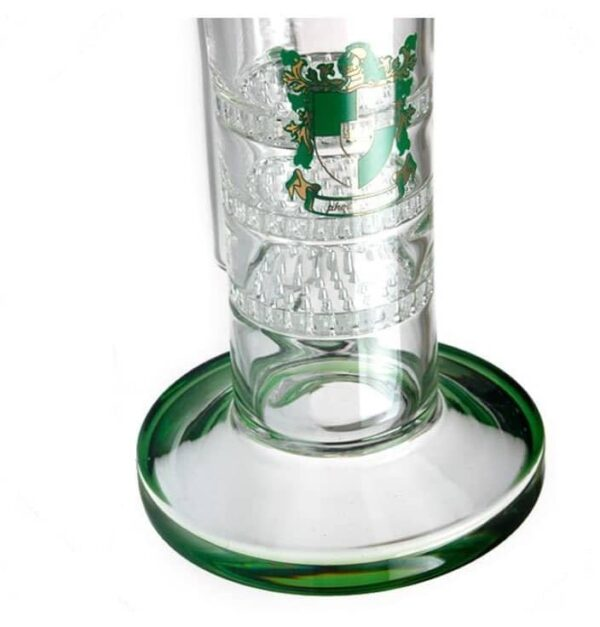 Honeycomb Perc Glass Bong Freezable Ash Catcher