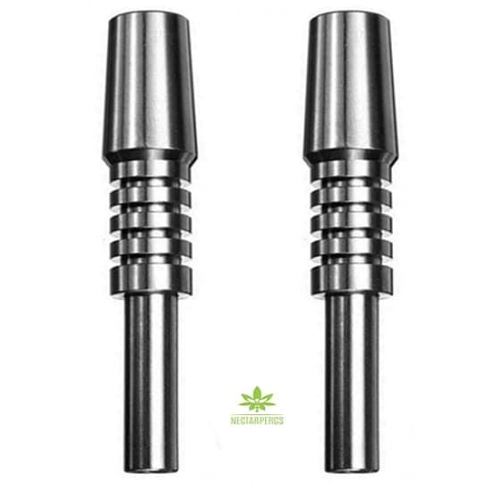Titanium Dab Tips Nectar Collector Dab Straw Huni Badger Bong